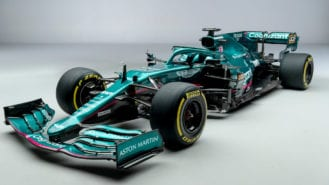 Aston Martin launches first F1 car for over 60 years