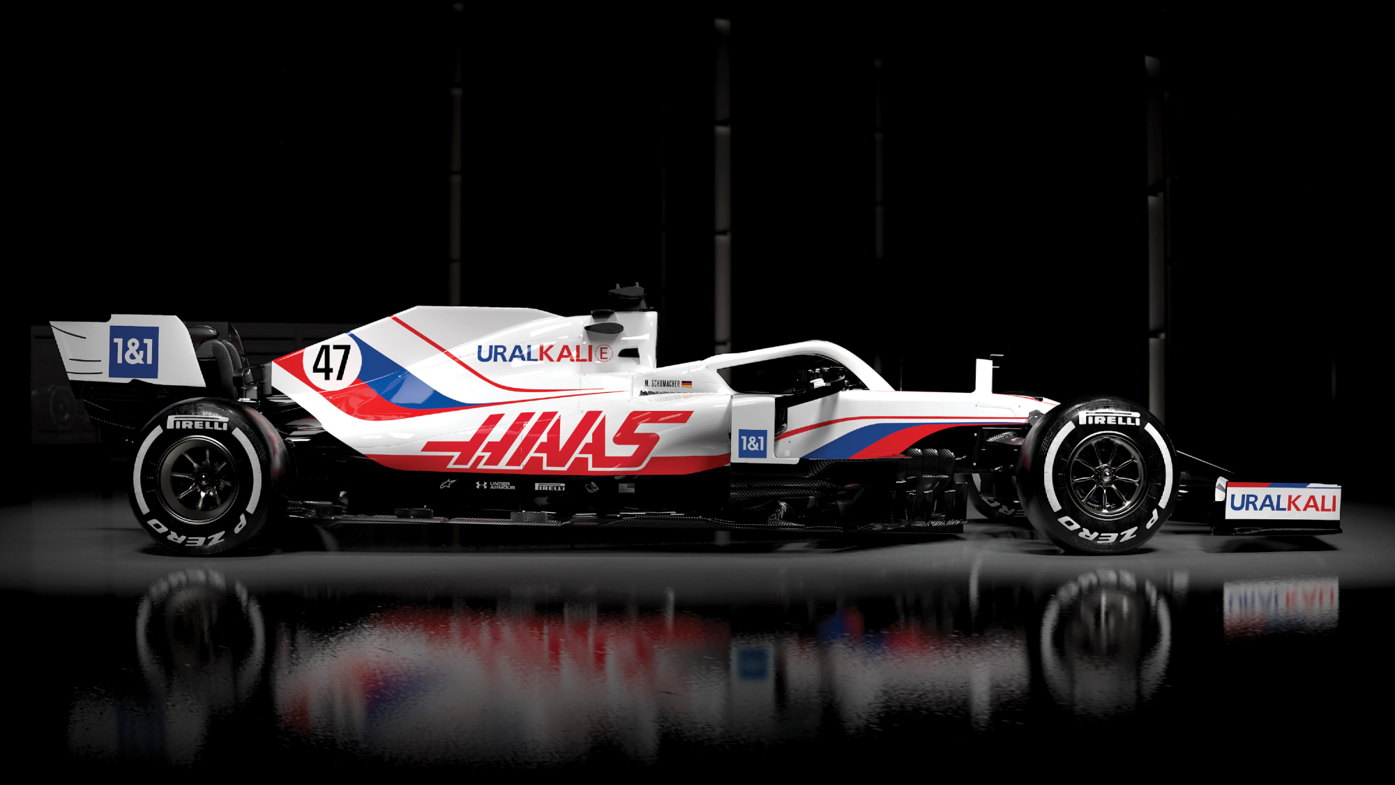 Haas shows off 2021 livery and announces Uralkali as title sponsor