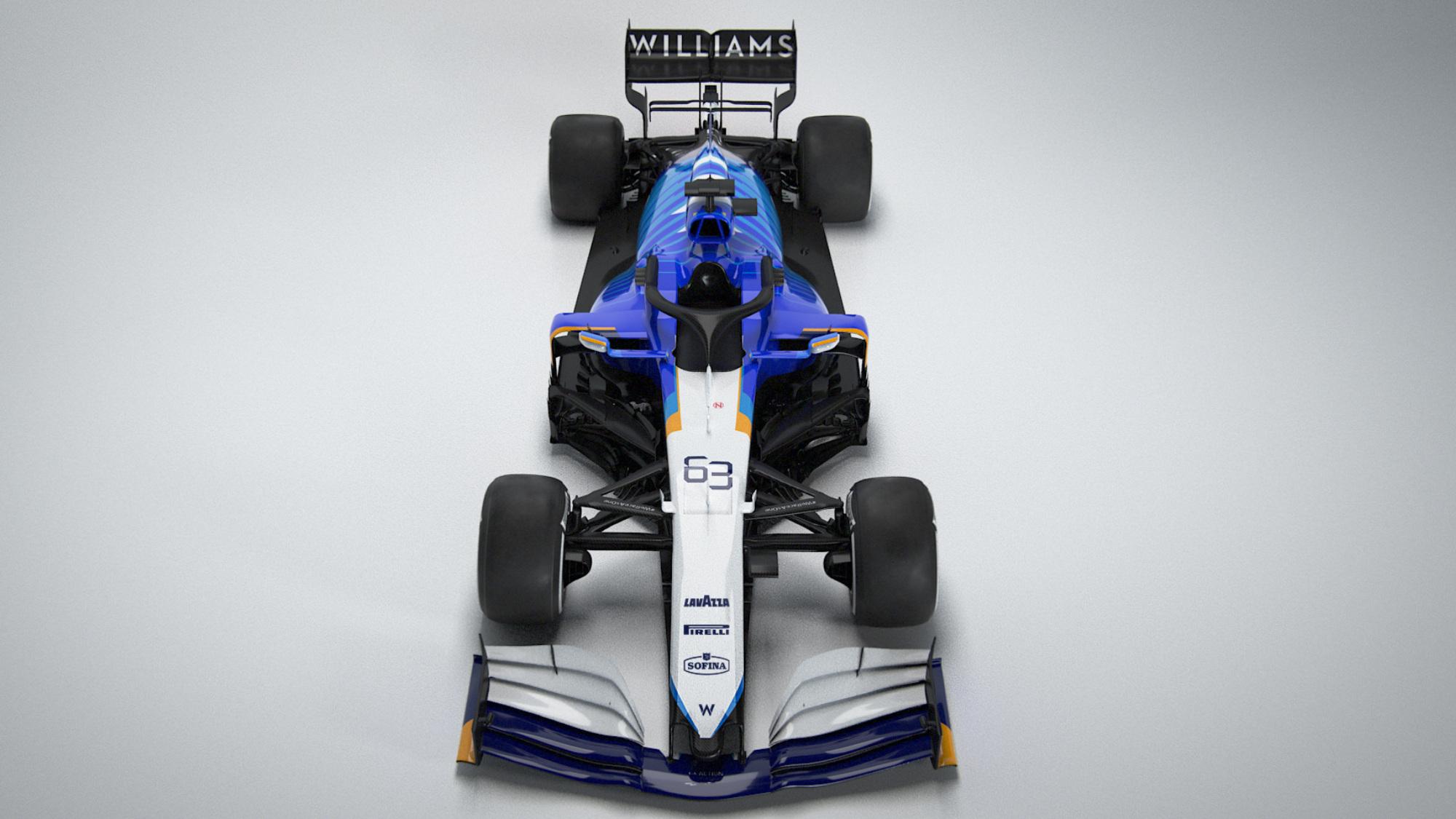 Williams FW43B 2021 F1 Car