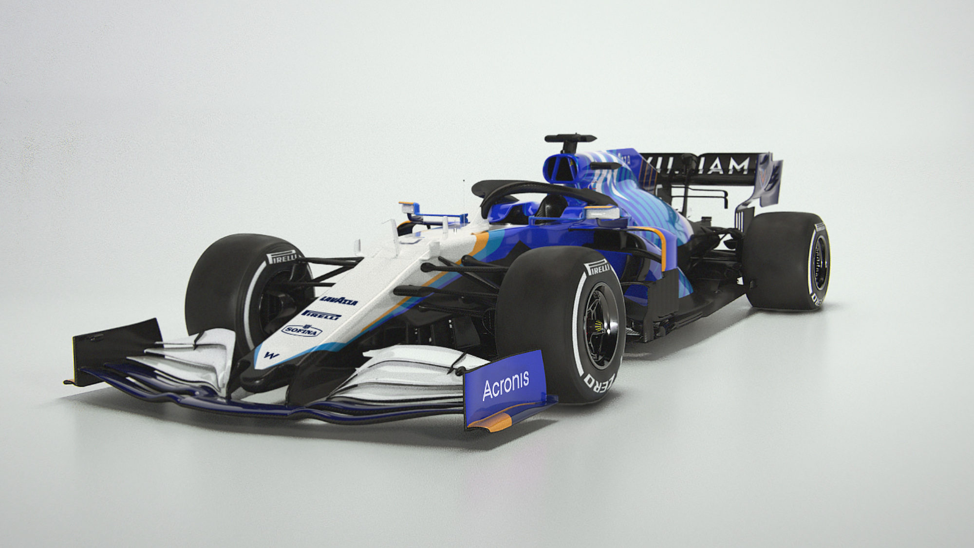 Williams reveals 2021 F1 car
