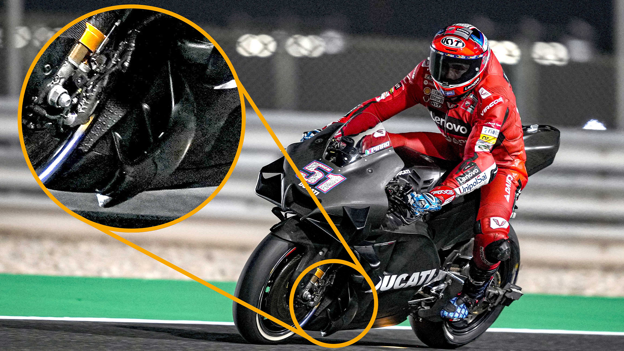 Is Ducati using ground effect for more grip in MotoGP?