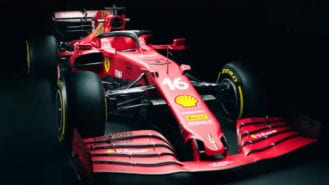 2021 Ferrari revealed in another F1 launch leak