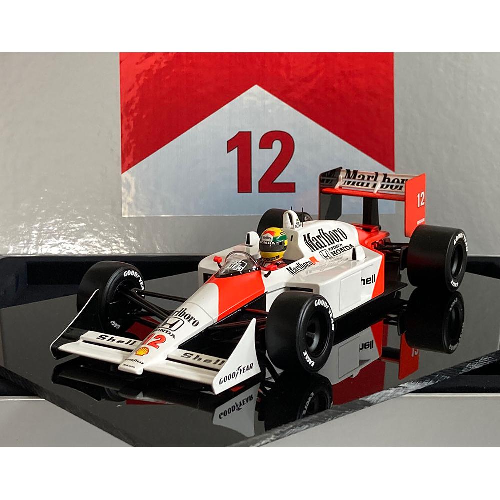 Product image for Ayrton Senna | McLaren MP4/4 | Japan Grand Prix | 1:18 Box Set