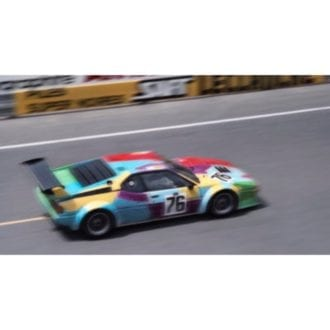 Product image for BMW M1 Andy Warhol Art Car | Le Mans 1979 | Steve Theo