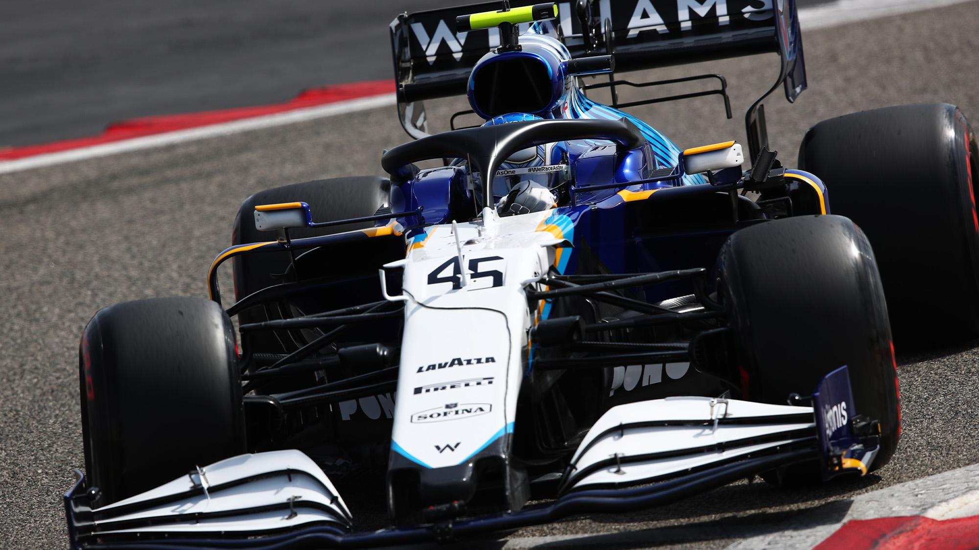 2021 Williams preseason testing