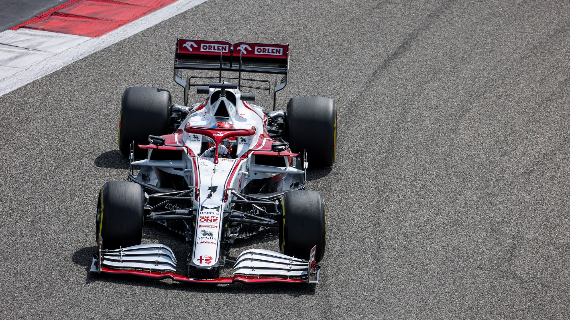2021 Alfa Romeo preseason testing