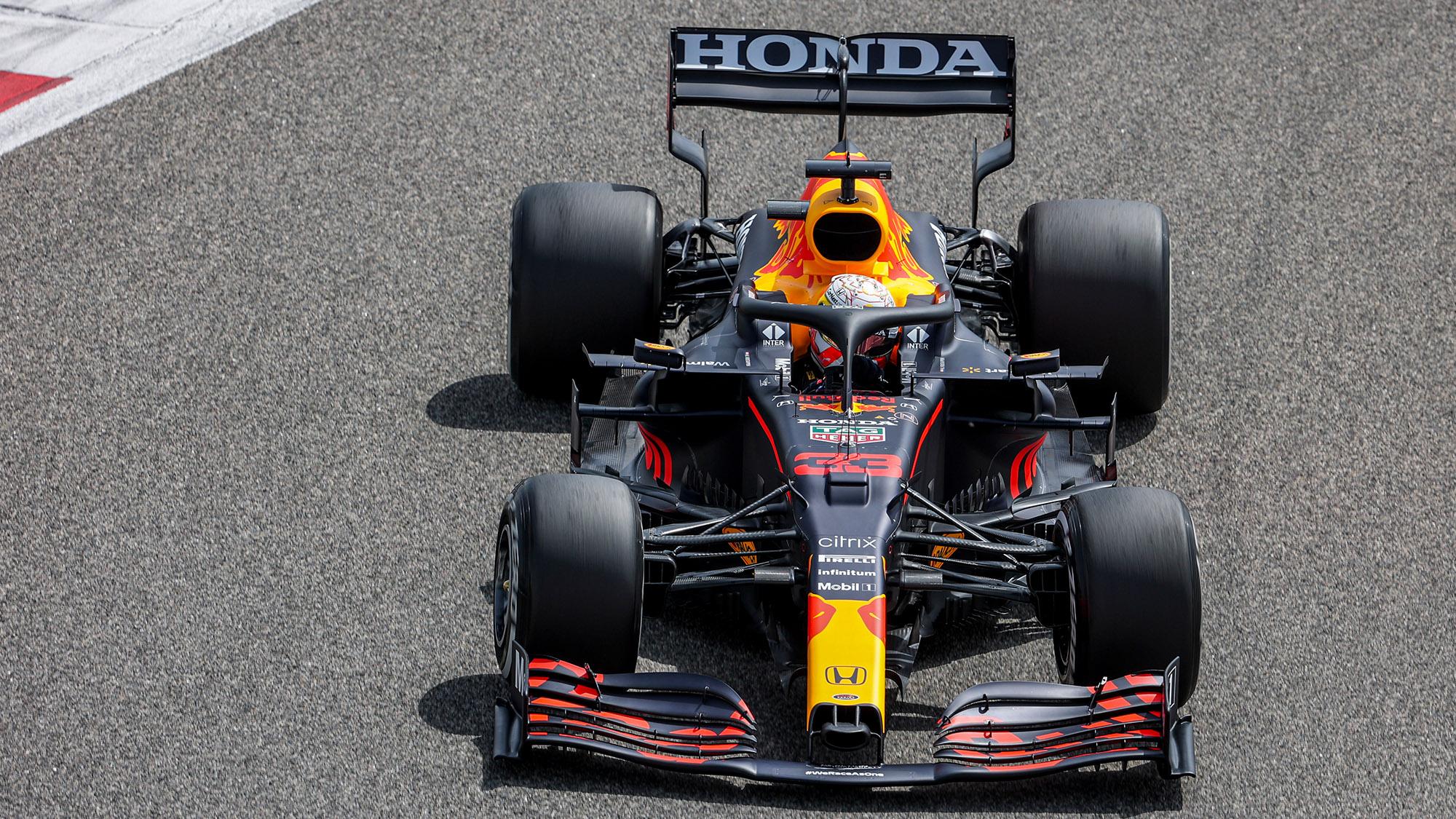 2021 Red Bull preseason testing