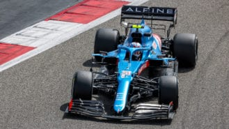 Alpine reveals reasons behind bulky engine cover