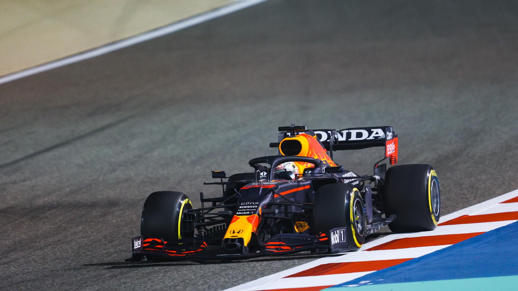 Max Verstappen, 2021 Bahrain testing