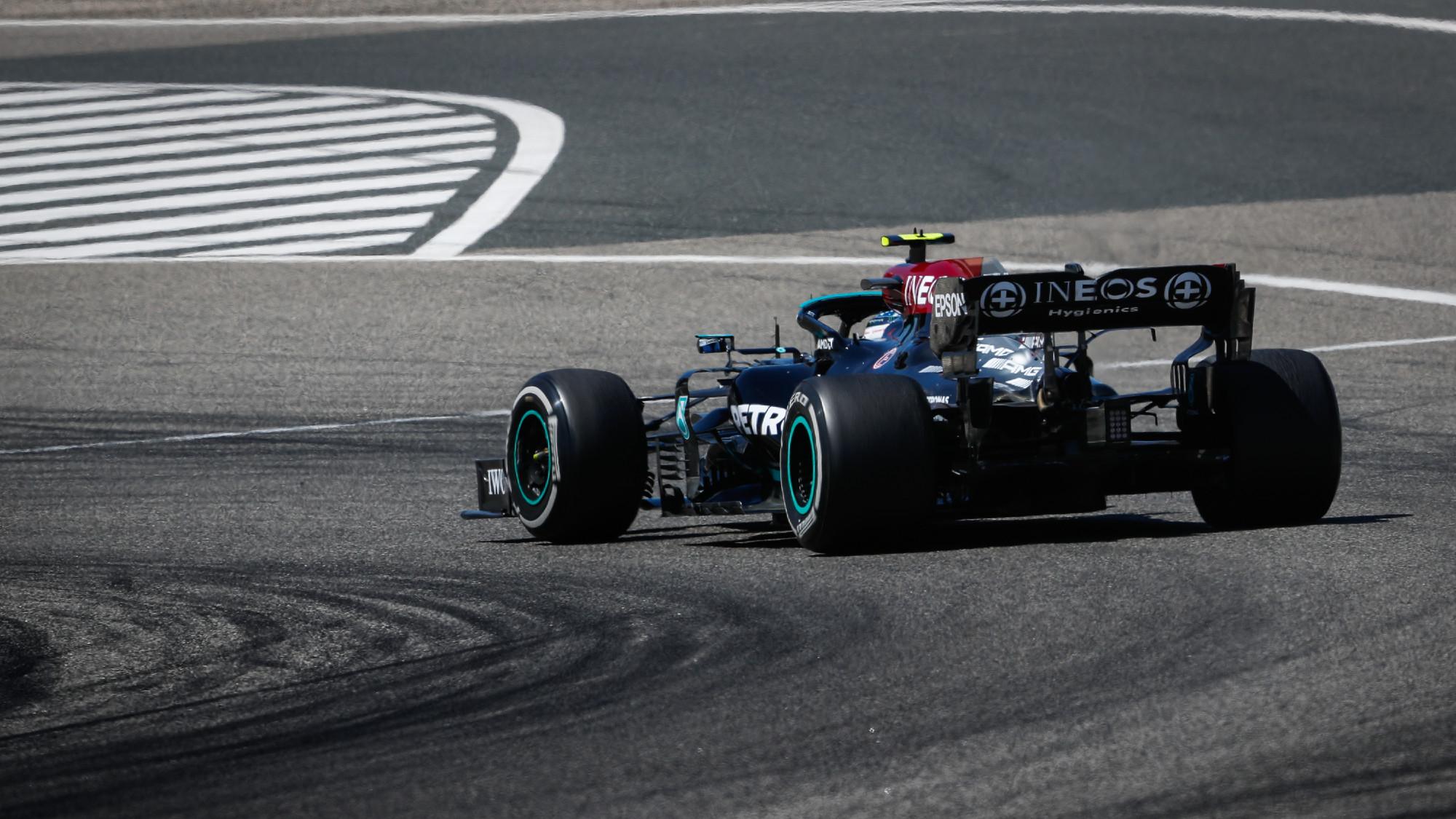 Valtteri Bottas, 2021 F1 Testing