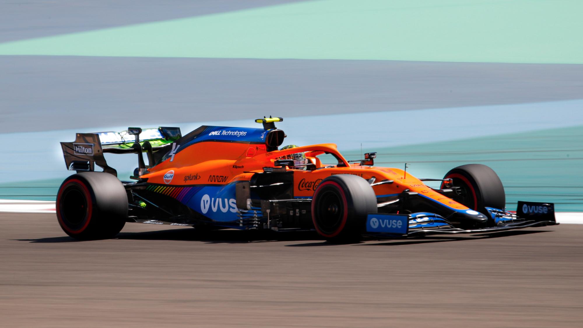 MCL35M 2021 McLaren Racing