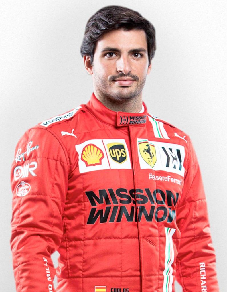 Carlos Sainz, Scuderia Ferrari 2021