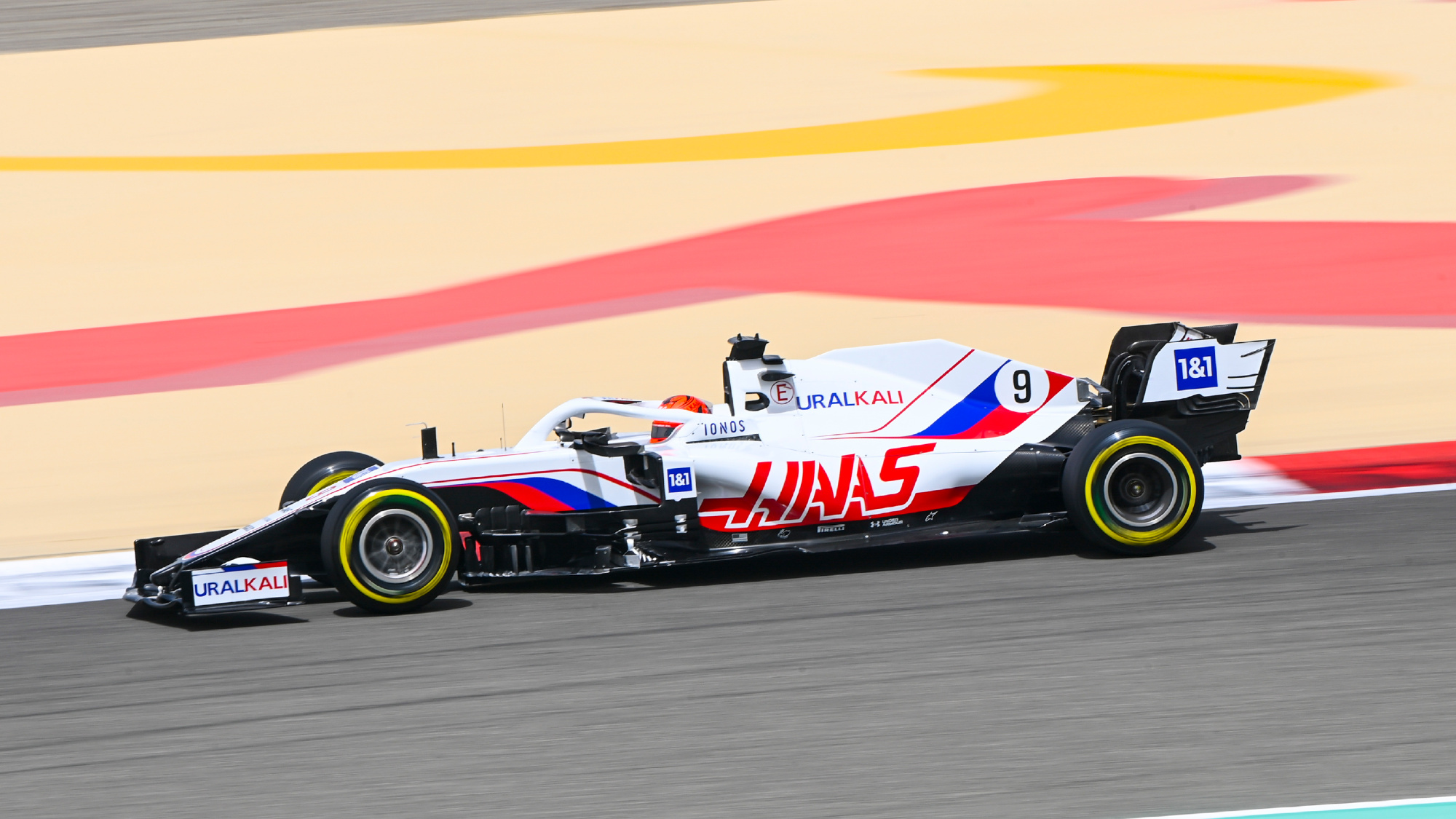 Haas F1 Team VF21, Nikita Mazepin