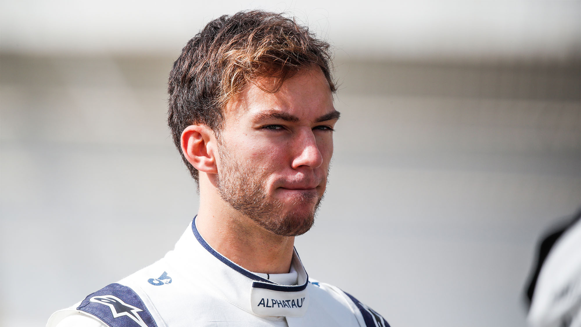 GASLY Pierre (fra), Scuderia AlphaTauri Honda AT02, portrait during the Formula 1 Pre-season testing 2020 from March 12 to 14, 2021 on the Bahrain International Circuit, in Sakhir, Bahrain - Photo Florent Gooden / DPPI