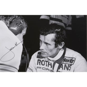 Product image for Jacky Ickx | Debrief Brands Hatch 1983 | Steve Theo