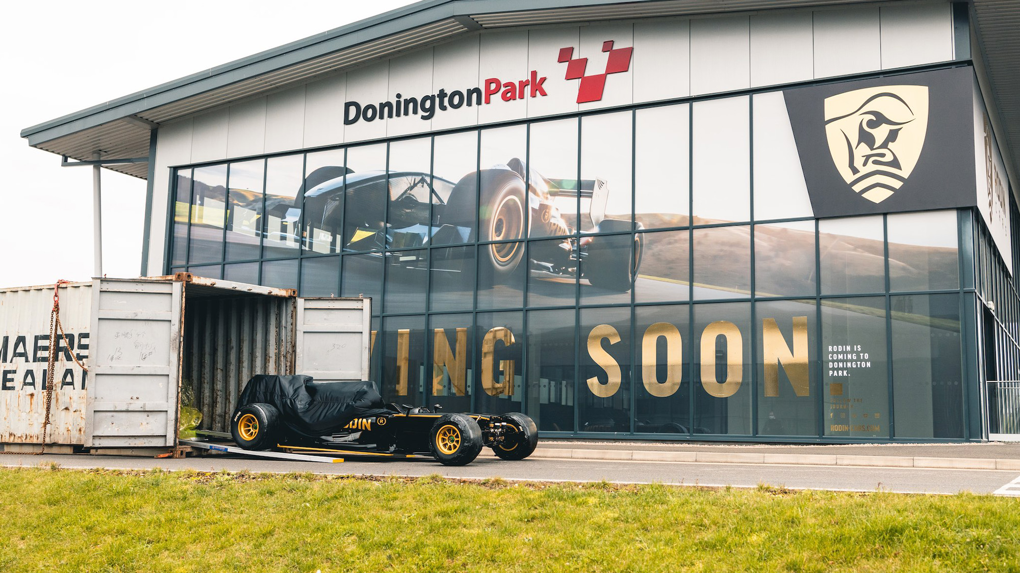 Rodin Cars sets up UK base at Donington