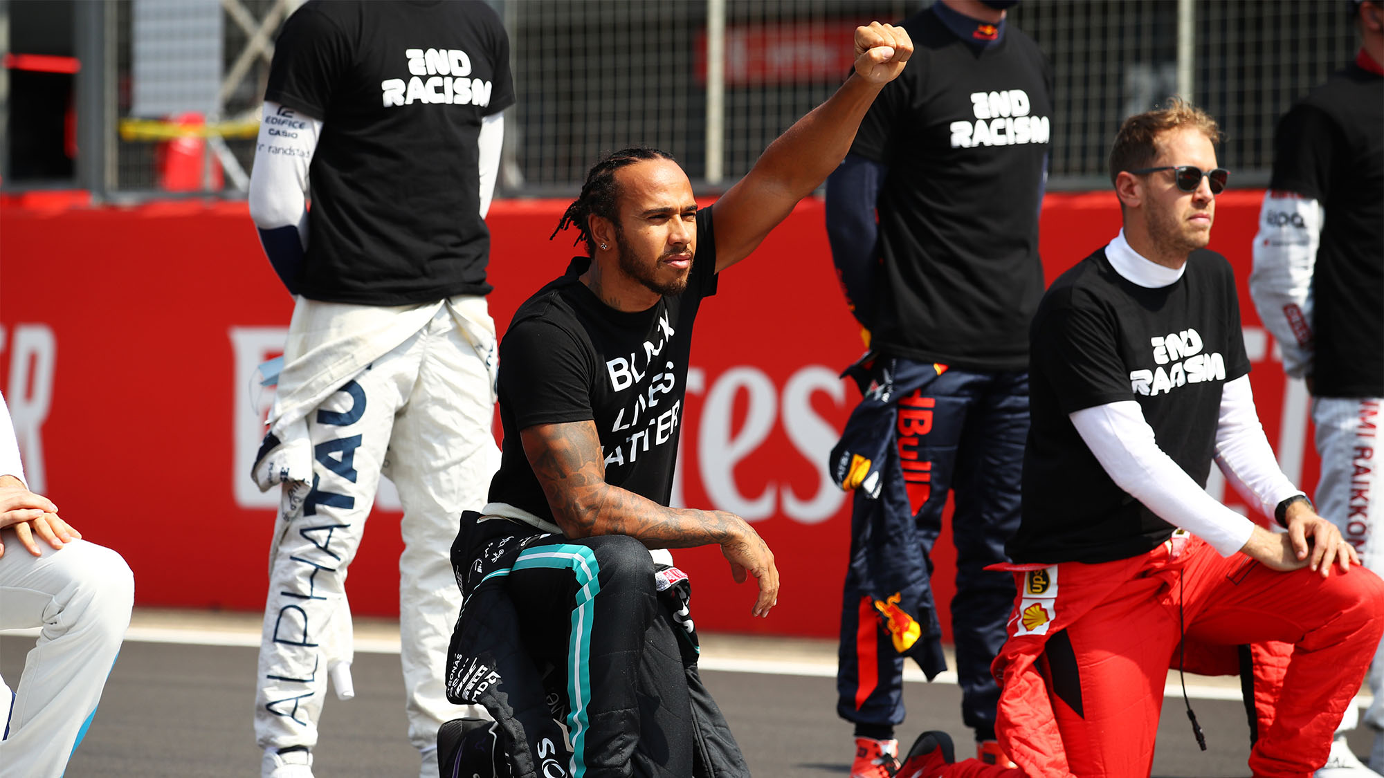 Lewis Hamilton explains why he'll keep taking the knee before F1 races