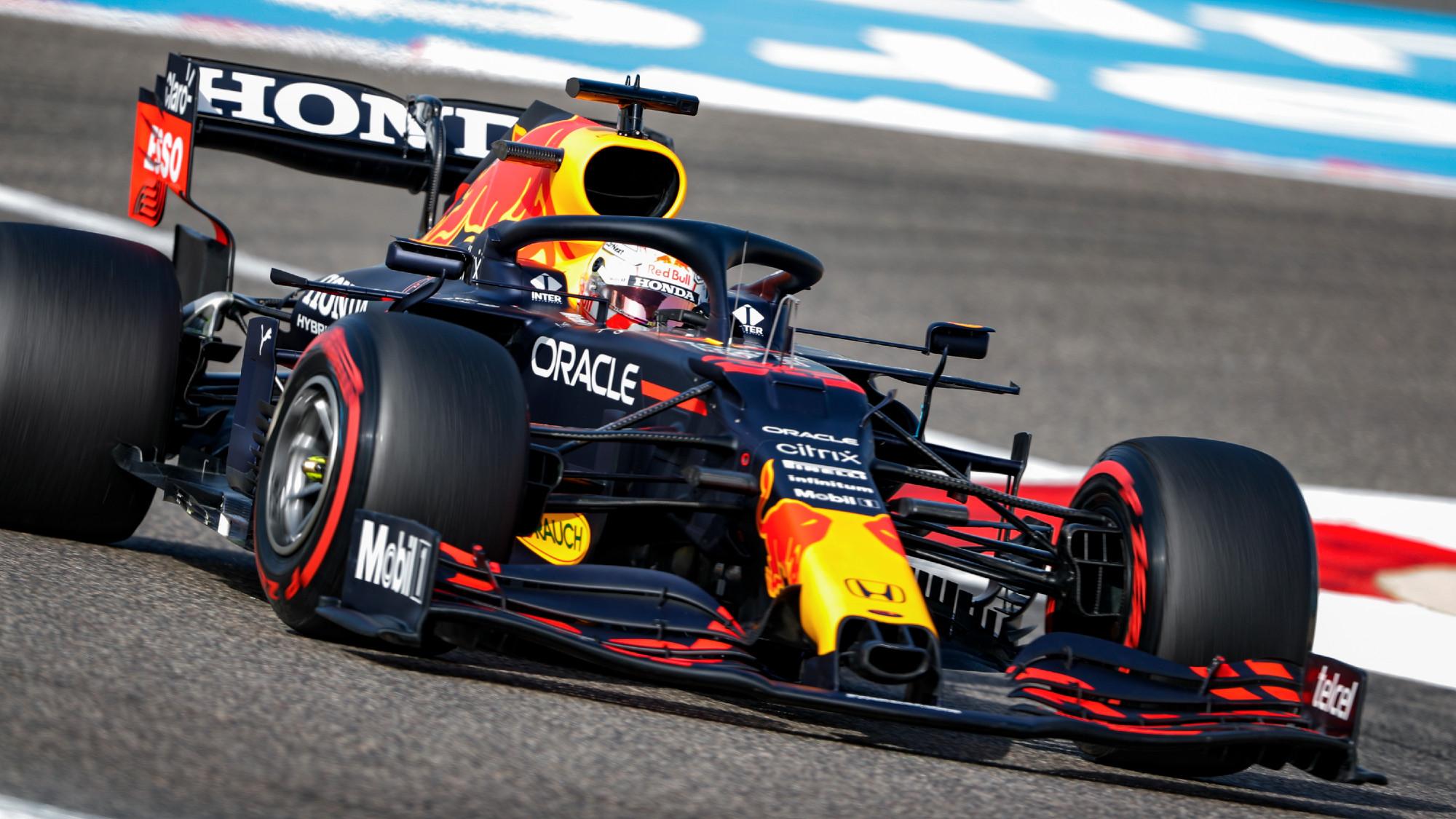 Max Verstappen dominates practice for 2021 F1 Bahrain GP