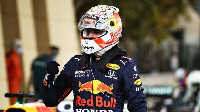 Verstappen vanquishes field to take pole for 2021 Bahrain GP