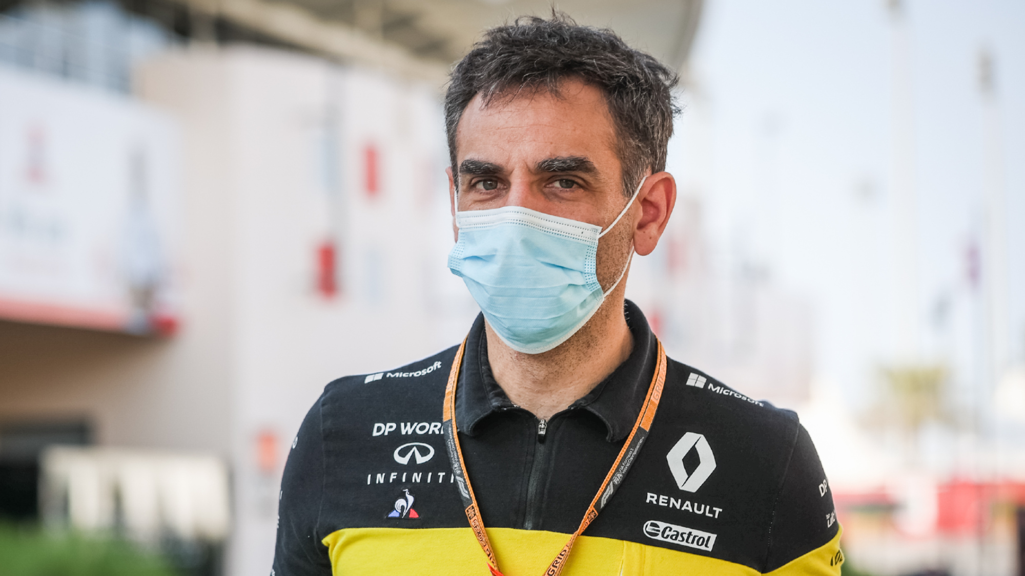 Cyril Abiteboul, Renault F1 2020