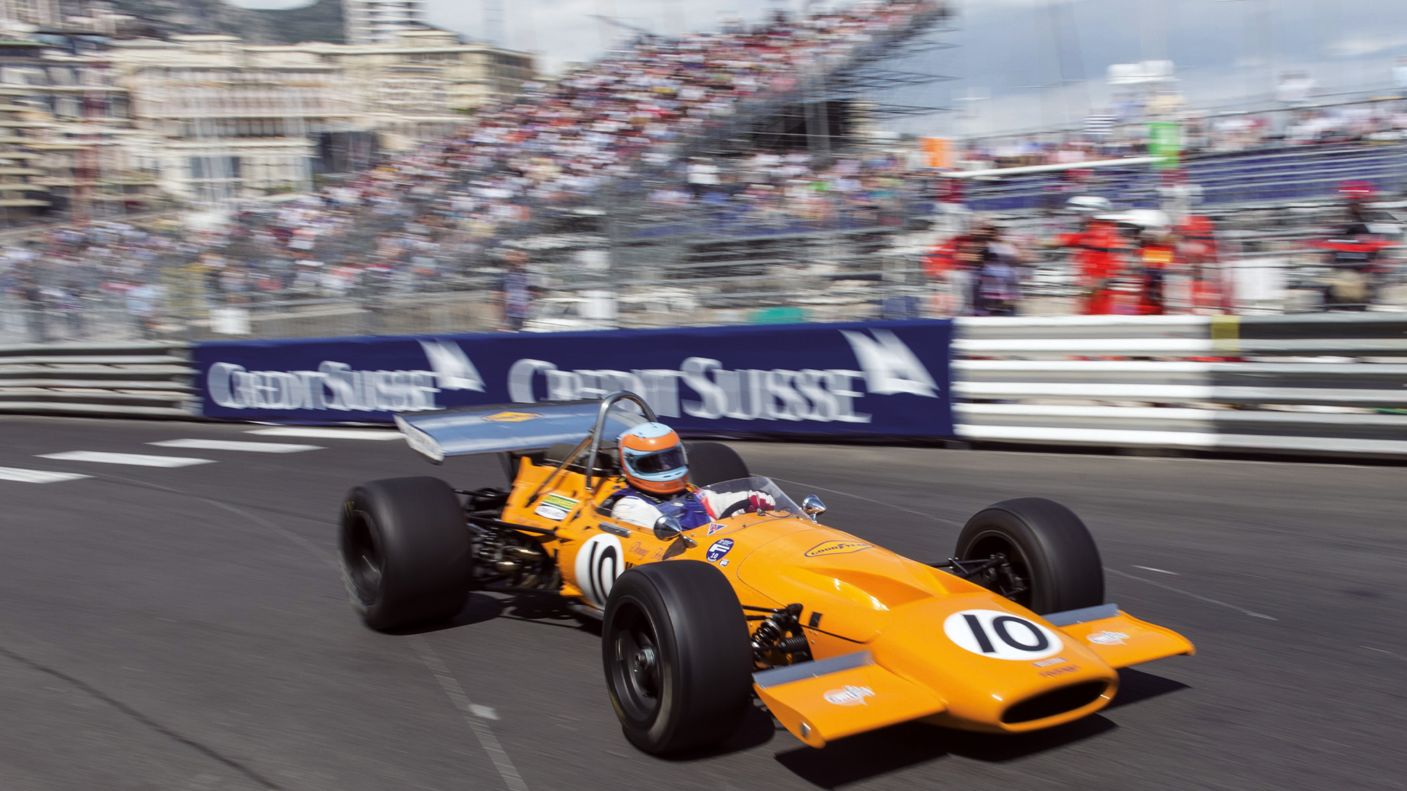 McLaren M14 at 2016 Monaco Historic Grand Prix