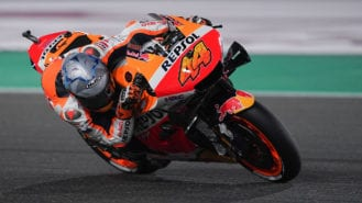Pol's Honda MotoGP debut: just one-tenth off the pace