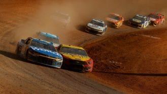 Joey Logano wins on dirt to become 7th different winner in unpredictable NASCAR season