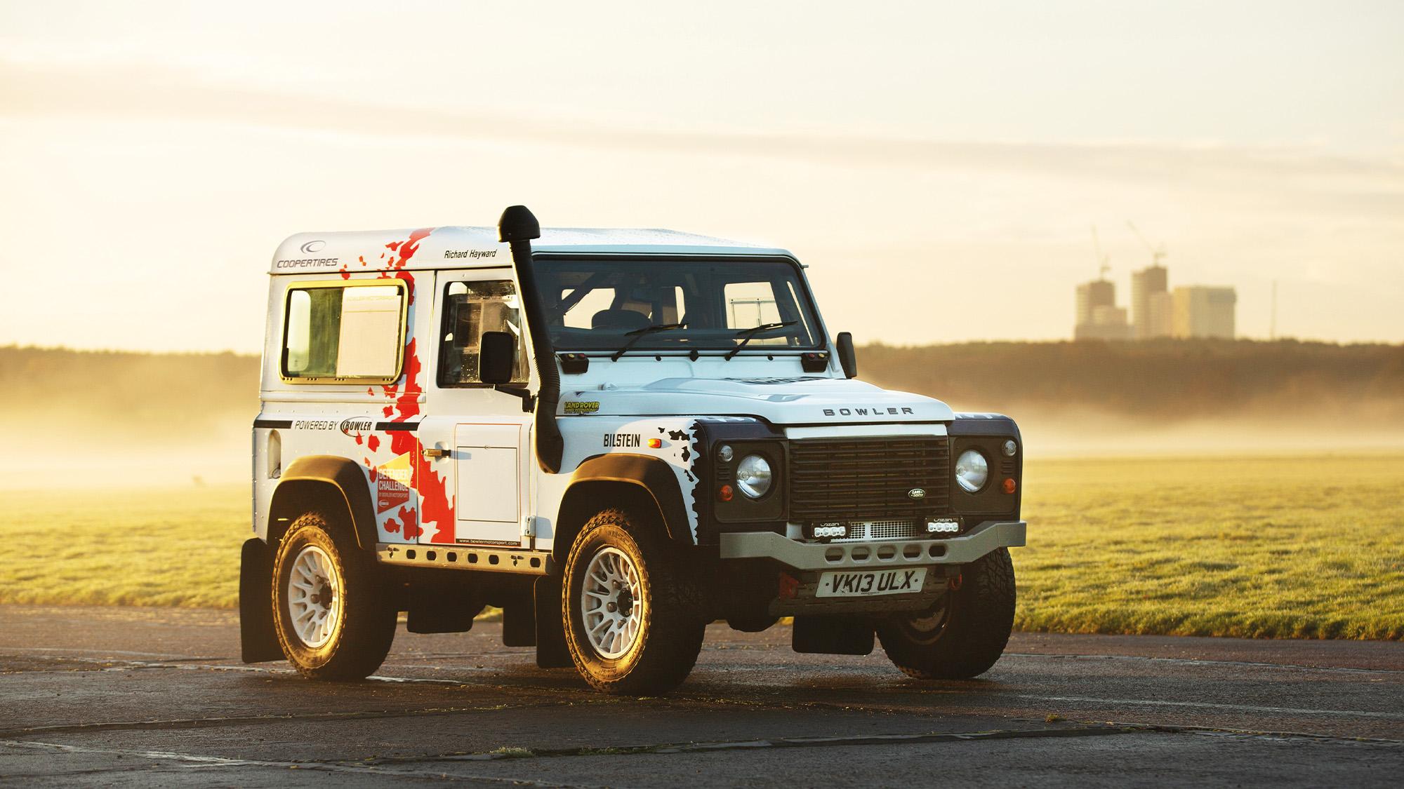 2013 Land Rover Defender 90 Bowler Challenge