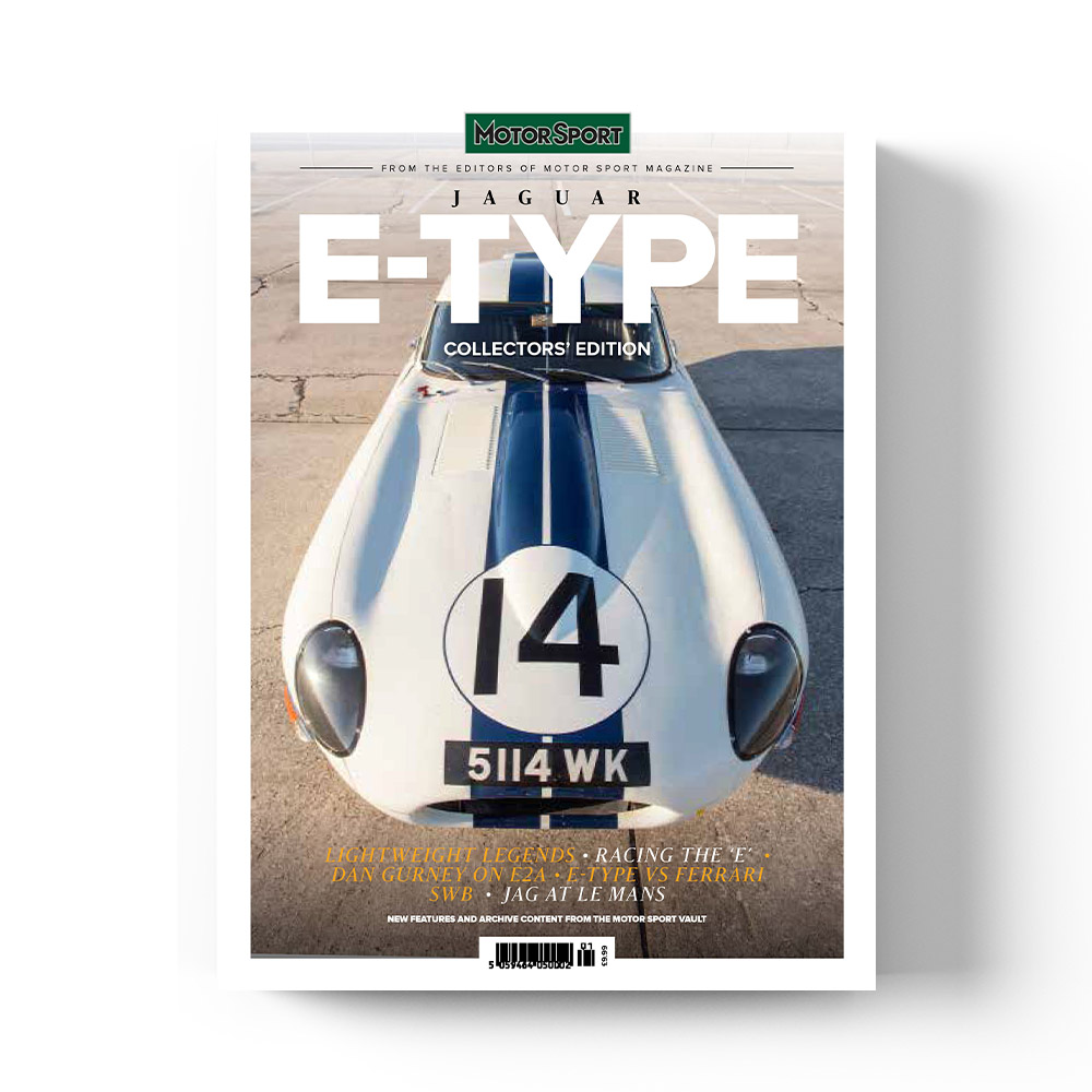 Product image for Jaguar E-Type | Motor Sport Magazine | Collectors' Edition