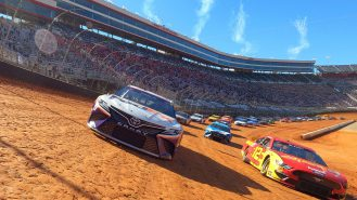 A thousand times the fun: dirt race helps to recapture lost NASCAR magic