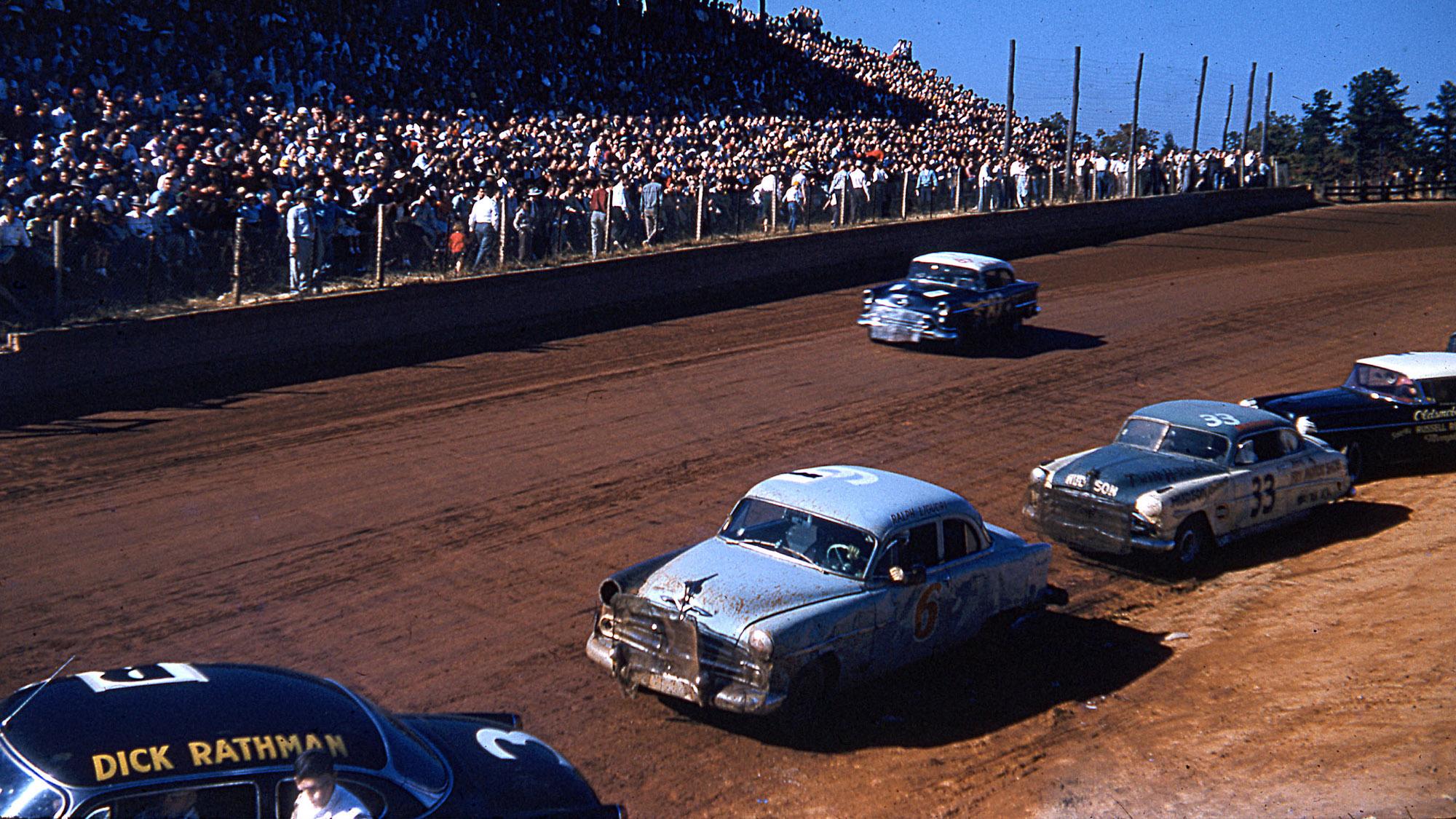 NASCAR 1950s dirt racing