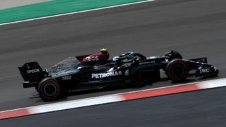Bottas fights back to take first pole of 2021 in Portuguese GP qualifying