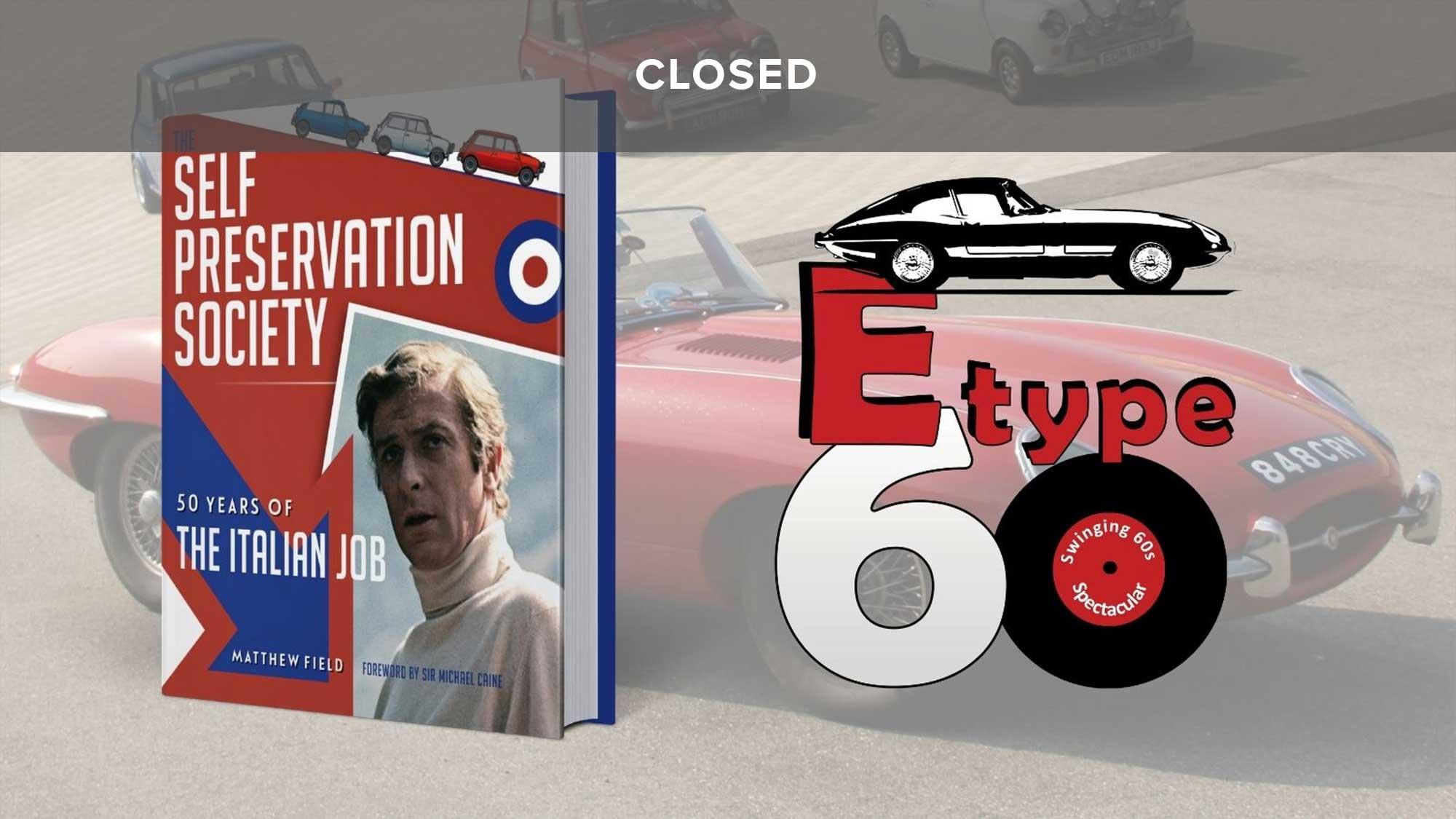 WIN a Jaguar E-type celebration package