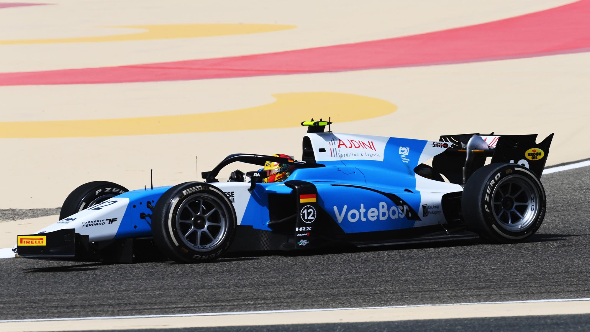 2021 Formula 2 car
