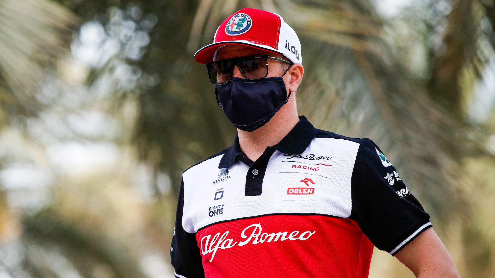 Kimi Räikkönen, 2021 Bahrain GP