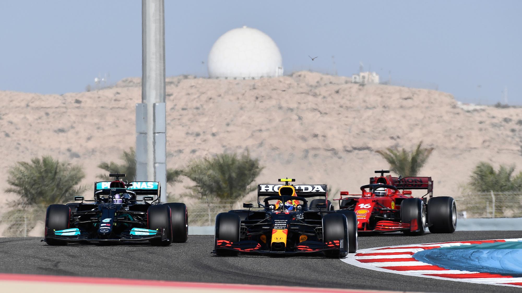 Bahrain FP1 2021