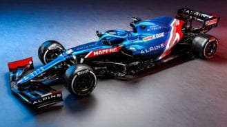 How Alpine designed its striking new F1 livery