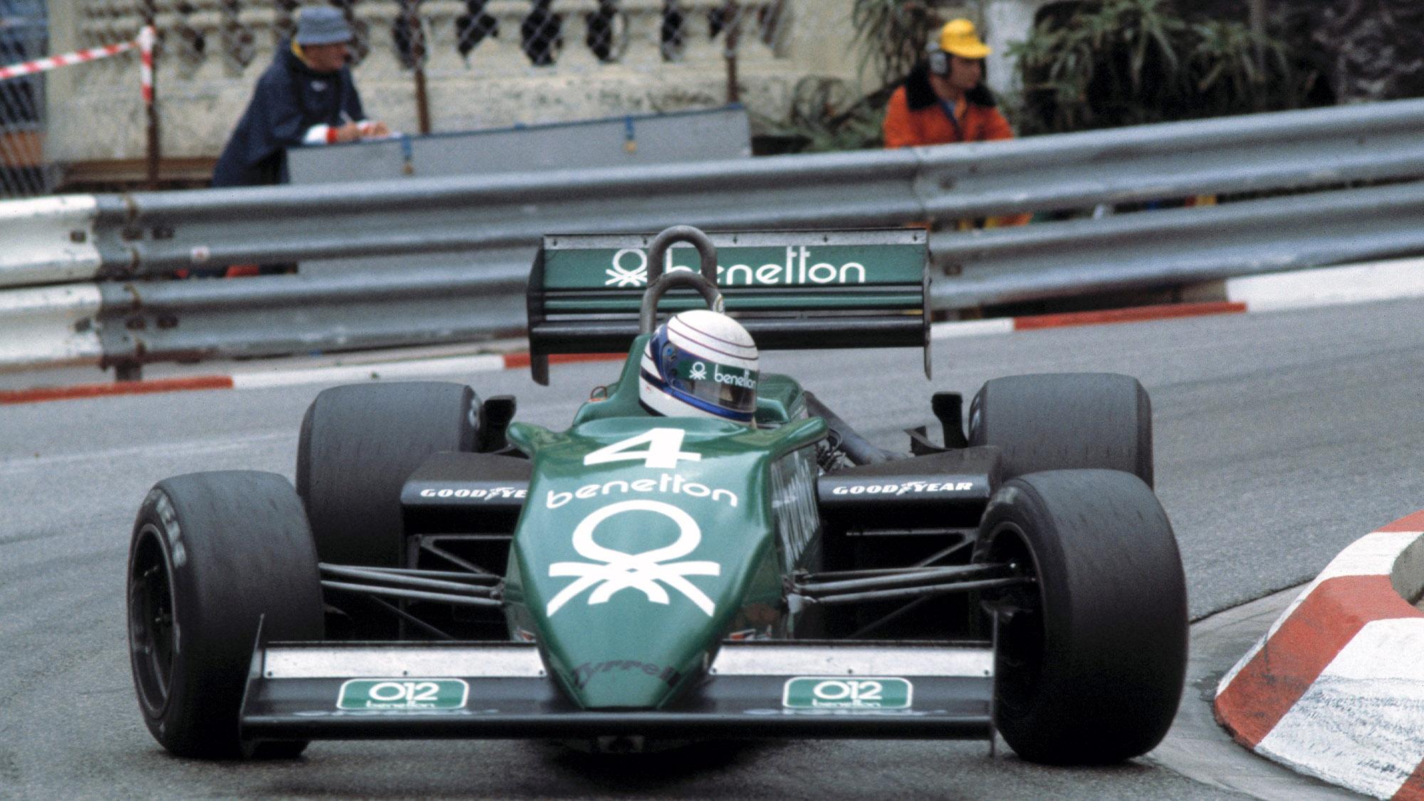 Tyrrell of Danny Sullivan at the 1983 Monaci Grand Prix