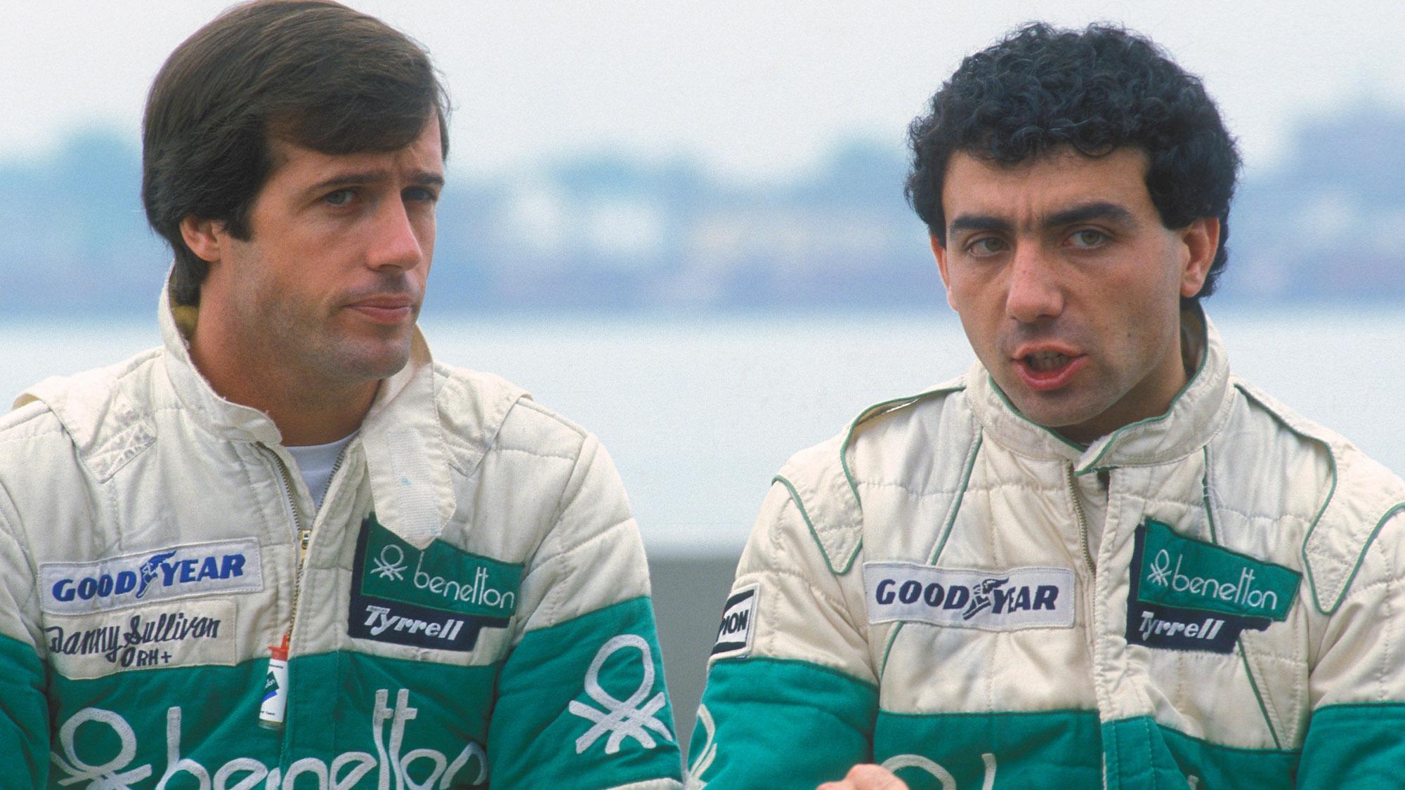 Danny Sullivan and Michele Alboreto in 1983
