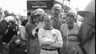 Rediscovered Stirling Moss photos offer unique glimpse of driver at his peak