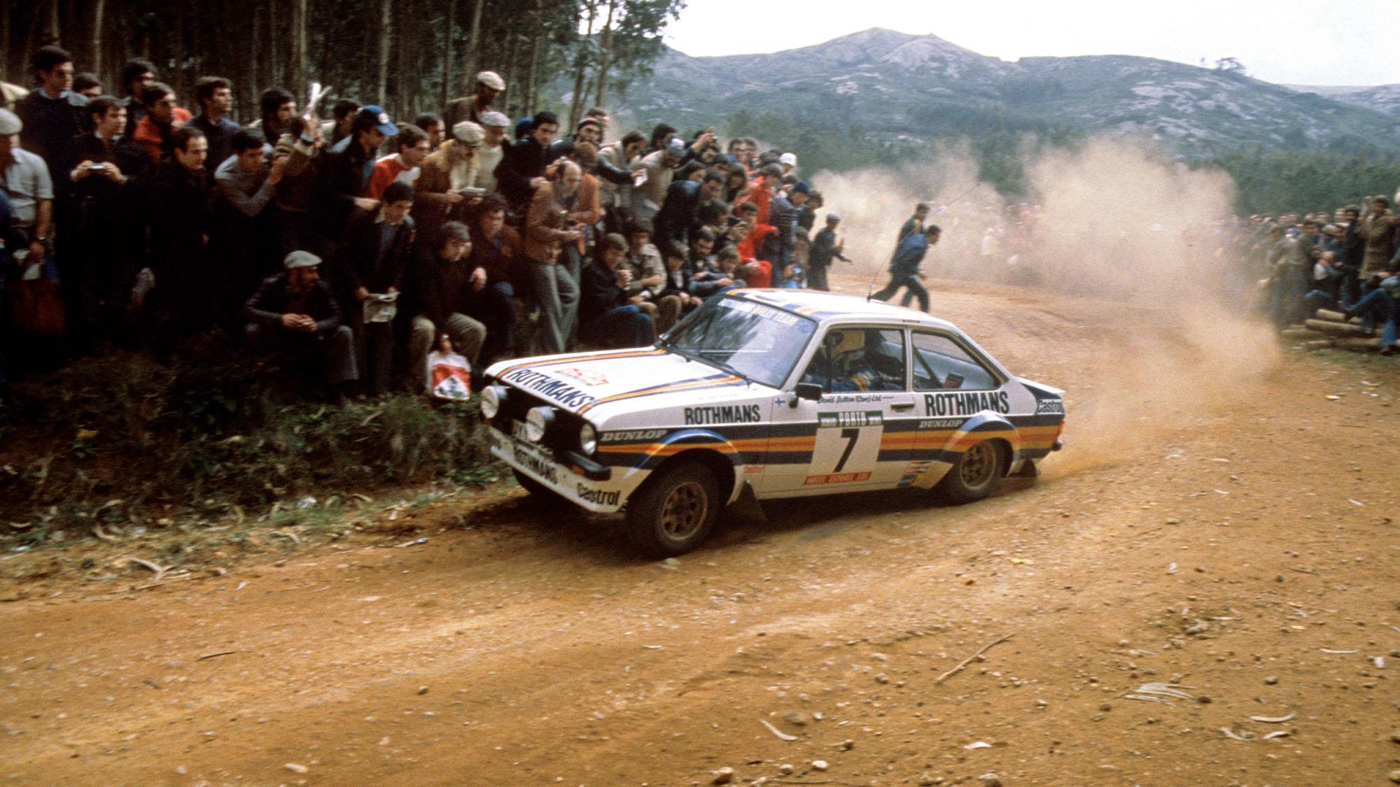 MOTORSPORT - WRC 1980 - RALLYE DE PORTUGAL - ESTORIL (POR) - 05 TO 09/03/1980 - PHOTO: DPPI - Ari Vatanen (FIN) / David Richards (GBR) - Ford Escort RS Gr4 - Action