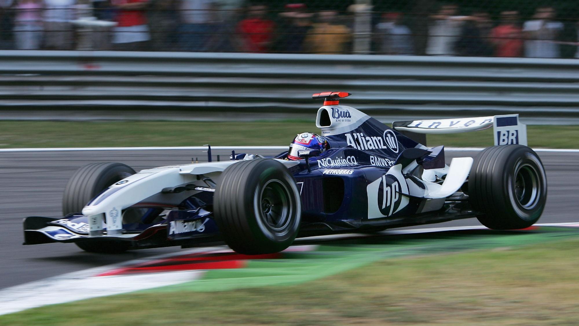 Juan Pablo Montoya, 2002 Italian GP