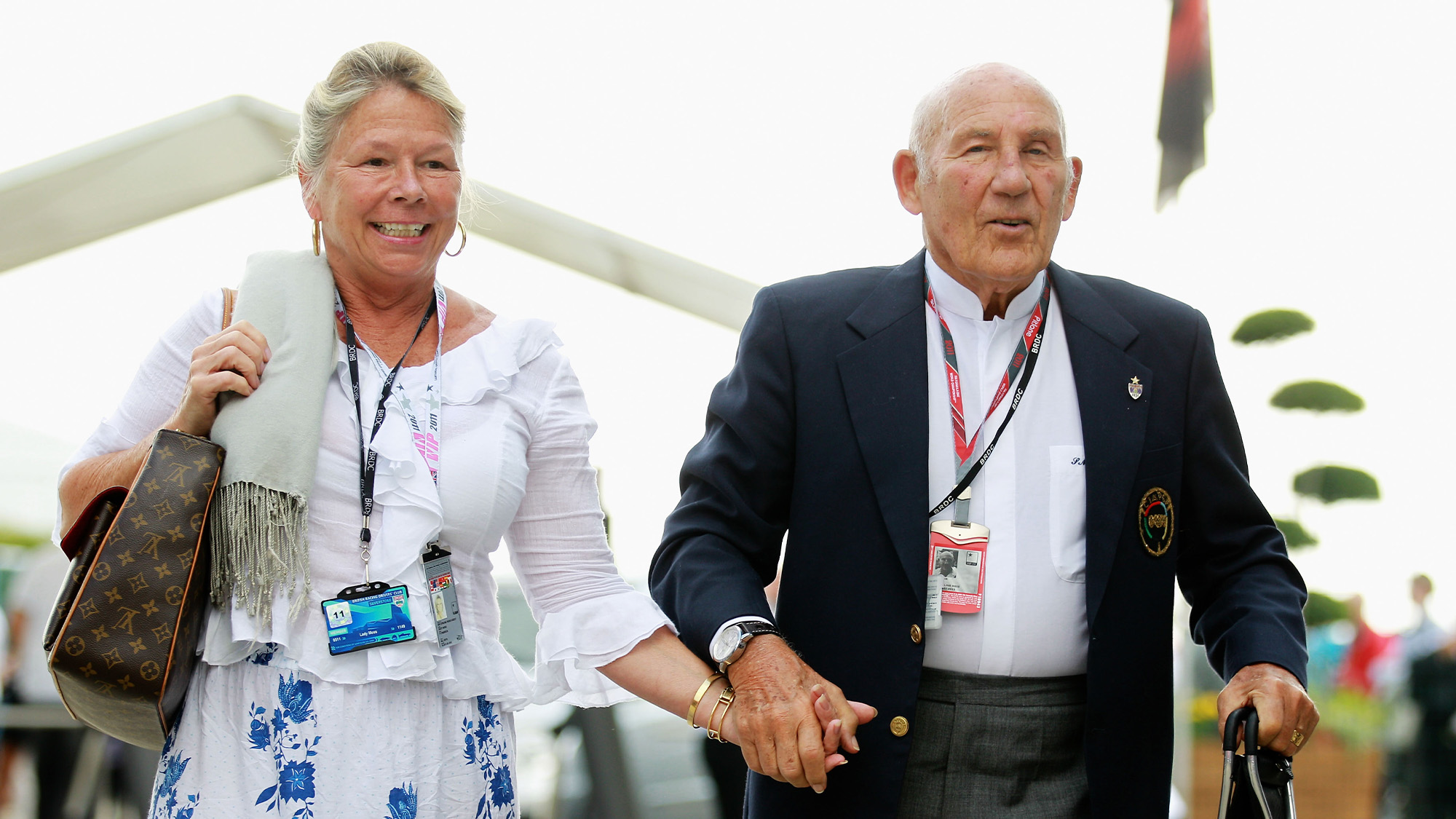 Susie and Stirling Moss