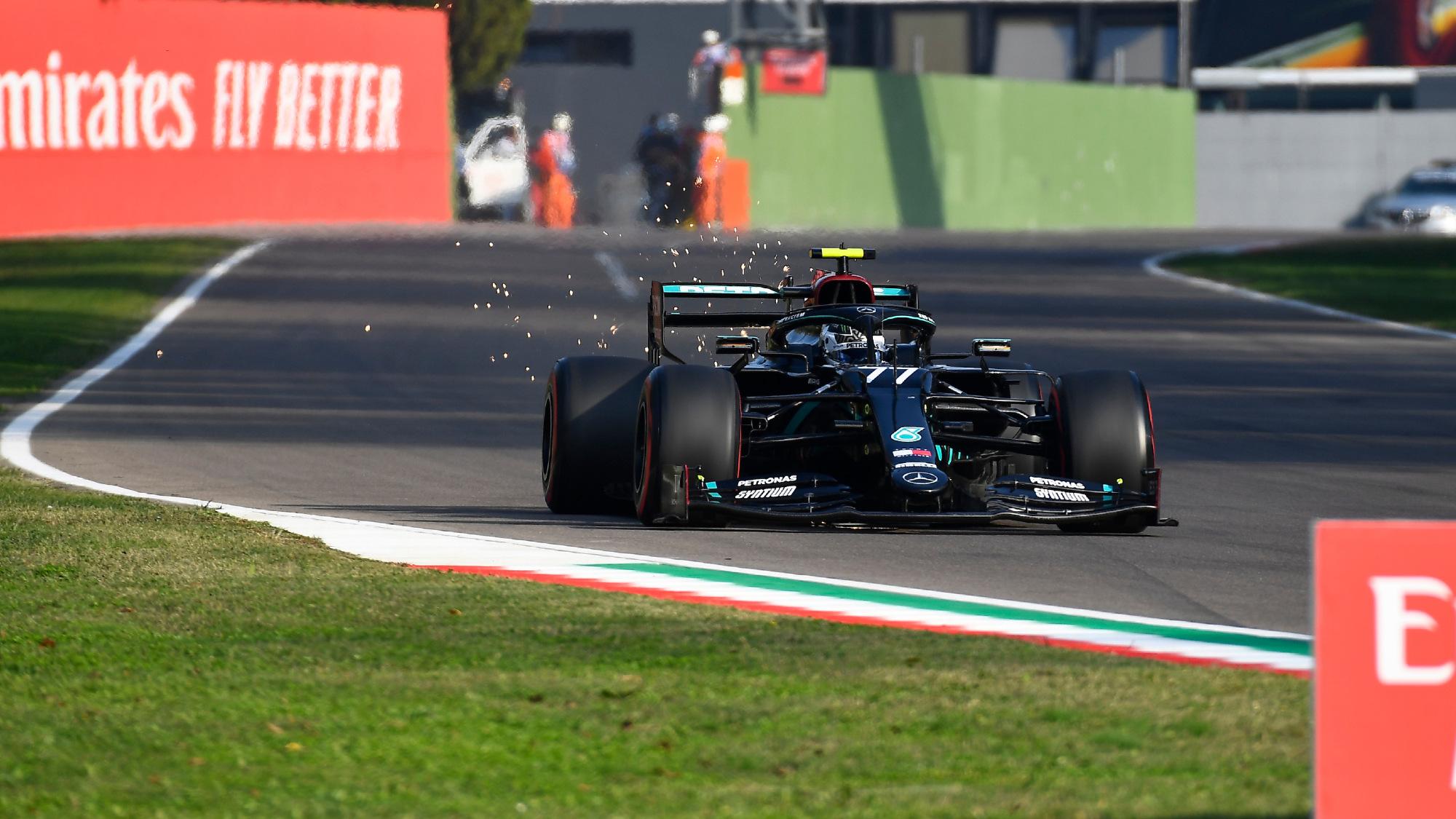 Valtteri Bottas, 2020 Emilia Romagna GP