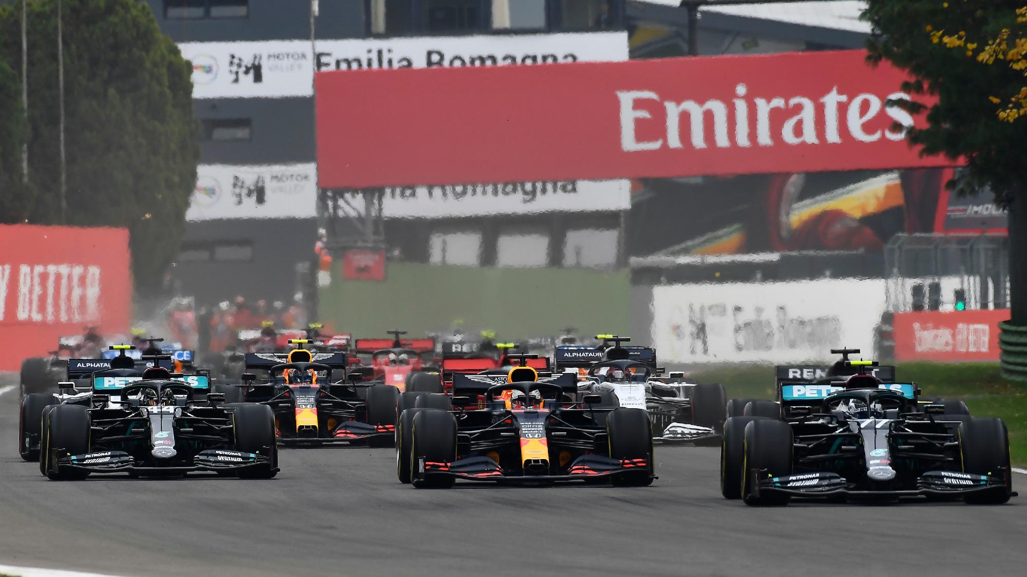 2020 Emilia Romagna GP, Race start