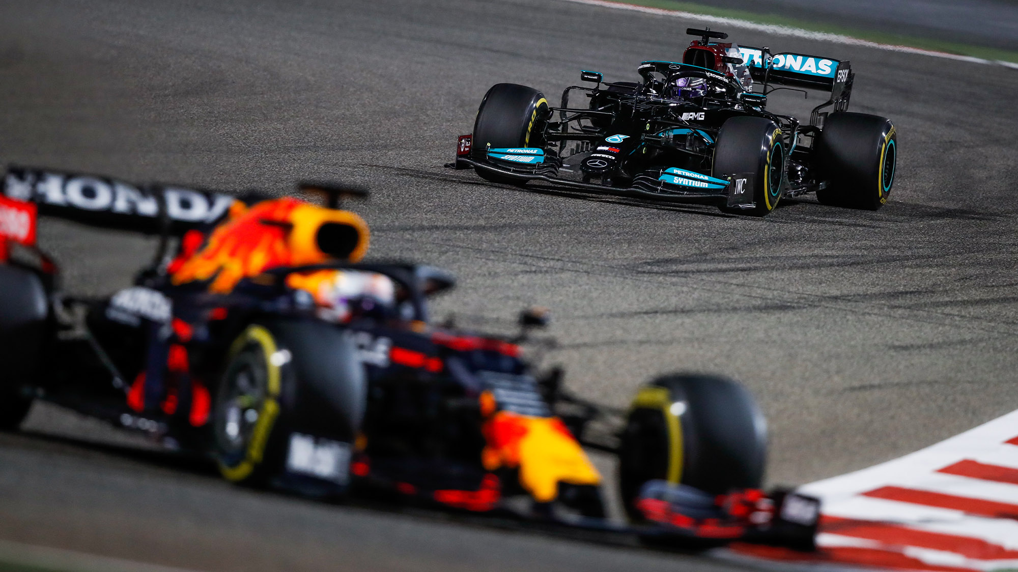 'We're the hunters', says Valtteri Bottas, 'but we can catch Red Bull'