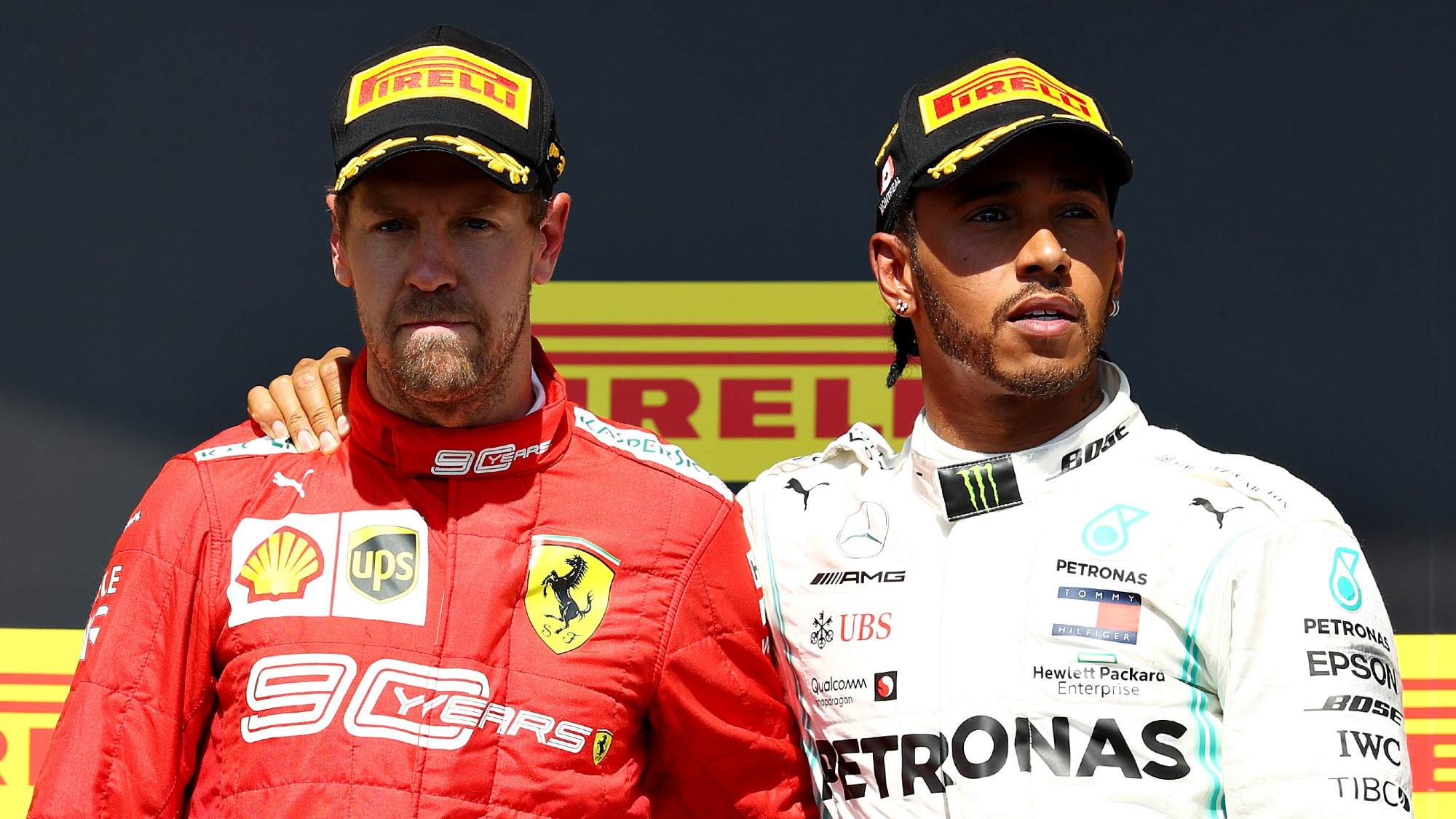 Lewis Hamilton vs Sebastian Vettel: a timeline of their rivalry