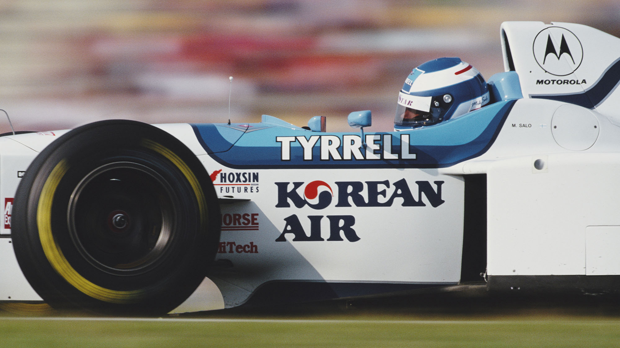 Mika Salo recalls Tyrrell's latter F1 days: 'It was like a family'