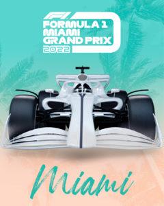 Miami Grand Prix poster
