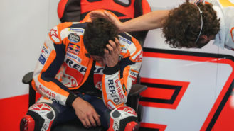 Márquez's amazing MotoGP return: now he knows he's not bombproof